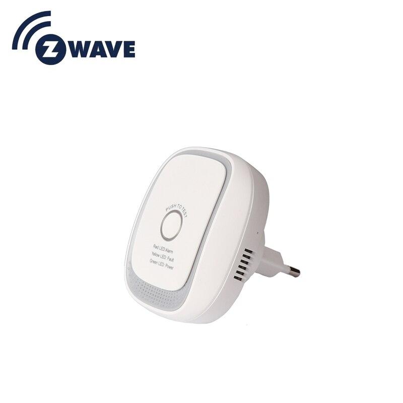 Haozee Z-wave Combusitible Gas Leakage Alarm Sensor Smart Home EU Version 868.42mhz Natural Gas Coal Gas Detector