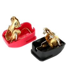 Car Style Pair Of 12V Quick Release Battery Terminals Clamps For Caravan Boat Motorhome Lift Off