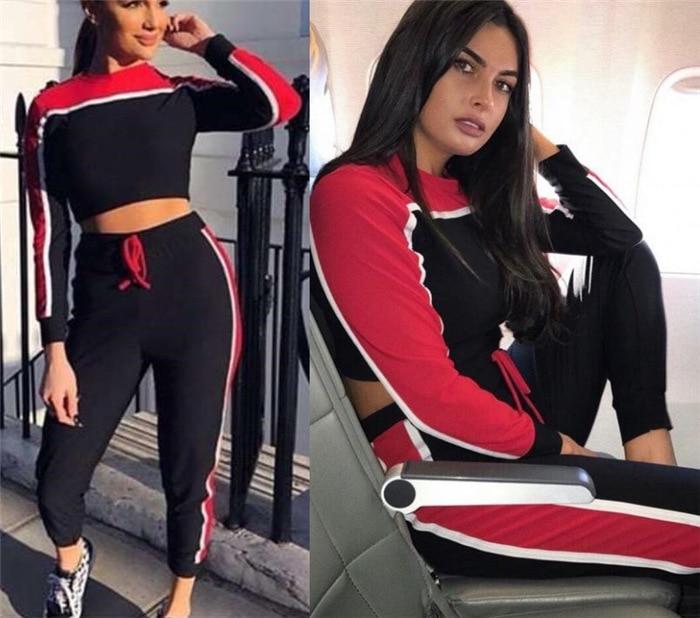 2018 Autumn New Style Trend WOMEN'S Sportswear Suit AliExpress EBay