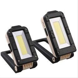 L'ÉPI XPE LED Travail Lumière USB Rechargeable Lampe De Poche Portable Camping Lumière Extérieure Étanche Projecteur Lampe de Travail avec Aimant