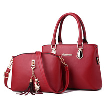 NEW Fashion PU Leather Women Composite Bags Casual Shoulder Bag Waterproof Crossbody for Messenger ZX-044.
