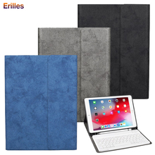 Bluetooth Keyboard for iPad Air 1 2 Flip Case PU Leather 9.7 2017 2018 with Pencil Holder