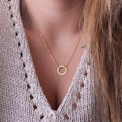 17KM богемное золотое ожерелье s для женщин монета Сердце цветок звезды колье кулон ожерелье этнический многослойный женский ювелирный подарок - Окраска металла: CS32A17