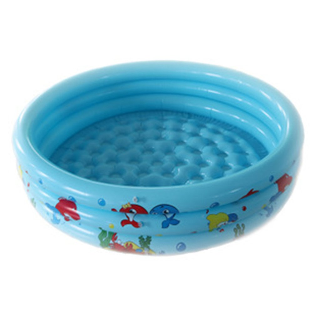 90cm Summer Baby Inflatable Round Swimming Pool Children Basin Bathtub Kids Outdoors Sport Play Toys Garden Paddling Pool