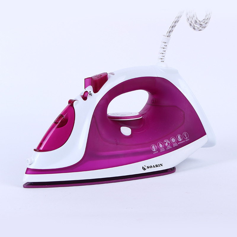 [Export English] Innovation Color Ceramic Plate Household Dry Steam And Dry Iron Ironing Machine SR-5518C