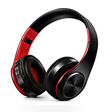 FDBRO Headphones Bluetooth Headset Earphone Wireless Headphones Stereo Foldable Earphone Microphone