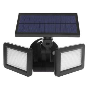 Image 5 - 22/48LED Dual Head Solar Light Radar Sensor Spotlight Waterproof Outdoor Solar Garden Light Super Bright Yard Flood LED Lamp