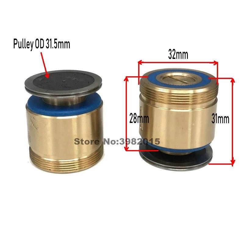 Parte o Conjunto da Roda do Guia do Assento do Comprimento o Corte do Fio 31mm do Rolo * da Polia para a Máquina do Wedm 077 Od32
