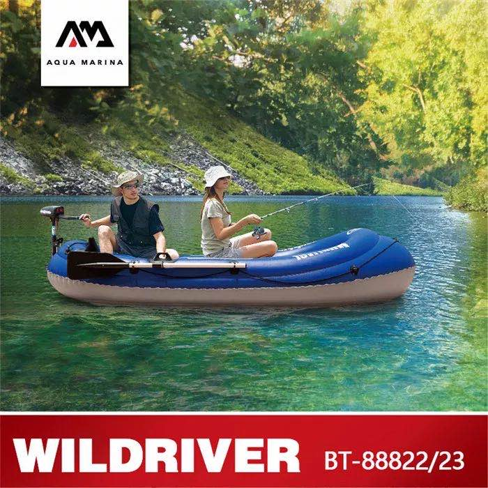 New Sports 2 Person Inflatable Fishing Boat with paddles 1
