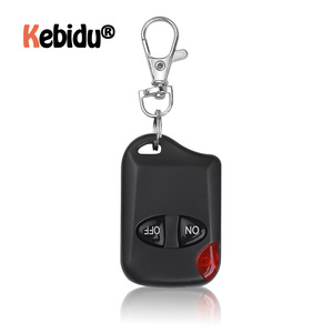 Image 1 - Universal 433MHz Remote Control Wireless 2 Button For Gate Garage Door Keychain Duplicator 2 Keys RF Remote Controller Latest