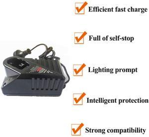 "Image 2 - בריטניה/האיחוד האירופי/ארה""ב Plug NI CD NI MH מטען עבור בוש 7.2V 14.4V NI CD NI MH סוללה מטען החלפת 14.4v Chargeur סוללות"