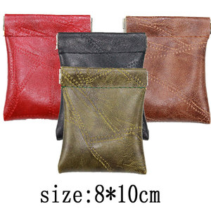 Soft Mini Wallet Women Men PU Leather Coin Purse Creative Travel Credit Card Holder Small Bag 2020 Key Business Card Pouch Case