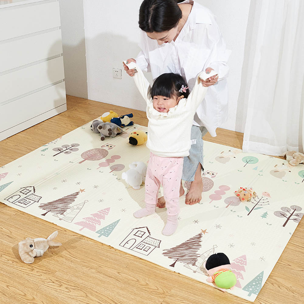 Crawling Mat Baby Crawler Pad Thickened Environment Friendly Mat Infant Play Mat Folding Carpet