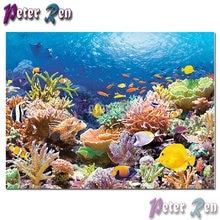 5d пейзаж алмазная живопись Вышивка подводный мир Сделай Сам