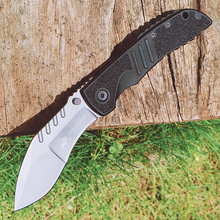 HX OUTDOORS Folding Knives 7Cr17Mov Blade Steel Aluminum + plastic Handle Knife Camping Survival Outdoor Hunting Knife Tool Knif