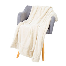 Soft Plush Flannel Blanket Throws Fleece Microfiber Throw for Bed Couch Sofa Office Camping Car RV