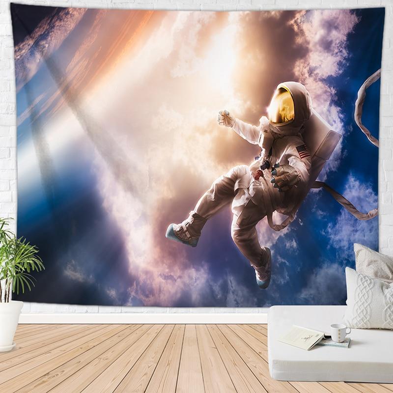 Луна пещера гобелен пространство ковер на стену хиппи гобелен большой tapijt muur домашний декор