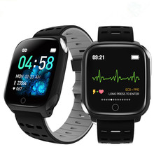 F16 الصحة ساعة ذكية PPG ECG IP67 مقاوم للماء معدل ضربات القلب الرياضة Smartwatch ل أندرويد IOS النساء الرجال سوار بعداد خطوات
