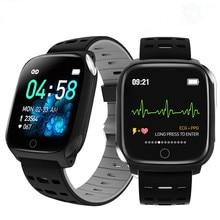 F16 saúde relógio inteligente ppg ecg ip67 à prova dip67 água freqüência cardíaca esportes smartwatch para android ios