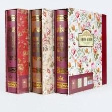 Retro Floral Printed 6Inch Photo Album Memory Book For Wedding Family Picture Souvenir Album Storage Case Children Birthday Gift