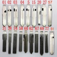 1-20# ключа автомобиля заготовка для ключа номер 01 02/03/04/5/7/11/15/16/20# для Kia hyundai Lada ключи щётки стеклоочистителя заготовка для ключа
