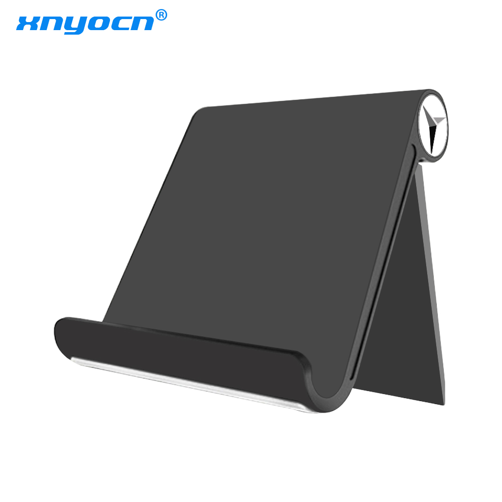 High Quality Tablet Holder Stand For IPad Kindle Foldable Adjustable Angle Desk Phone Holder Stand Mount For IPhone X Samsung S9