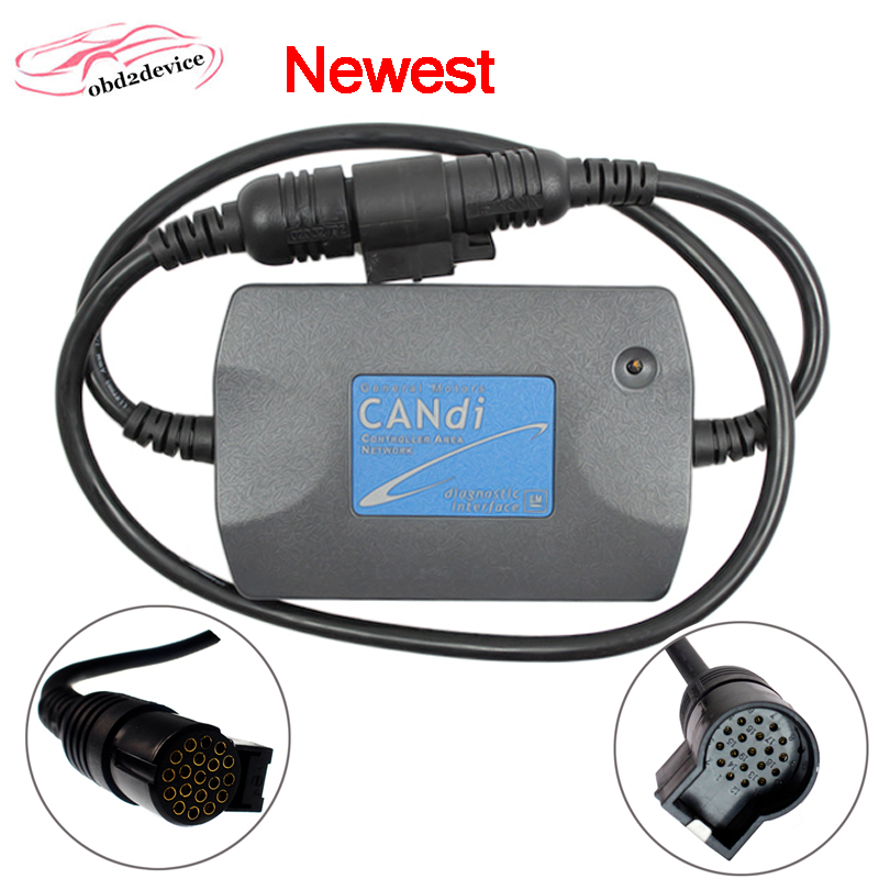 2020 New TECH2 CANDI Module Car Candi Interface Cable Tech 2 Candi Module Auto Diagnostic Cable Connector Adaptor