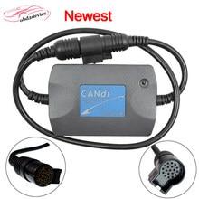 Новейшая модель; TECH2 модуль CANDI автомобиль Канди Интерфейс кабель Tech 2 модуль Candi авто разъем диагностического кабеля адаптера переменного т...