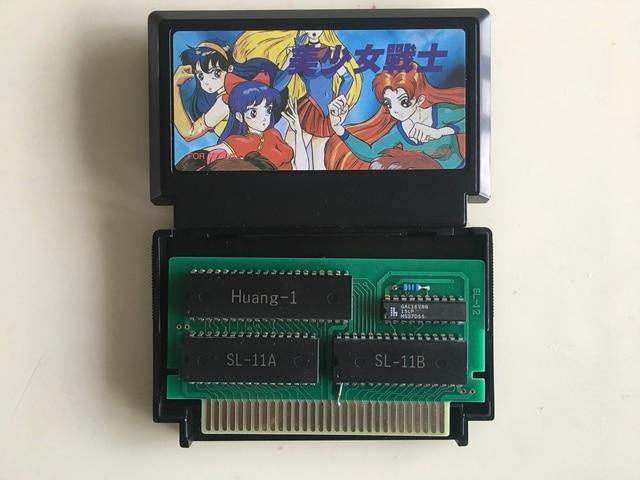 8bit Thẻ Trò Chơi: AV Bishoujo Senshi Cô Gái Chiến Đấu (Nhật Bản Phiên Bản!!!!!! Hộp Mực Chỉ!!)