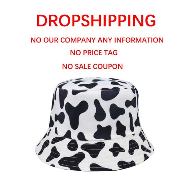 Cow Pattern Bucket Hat 3