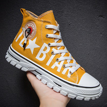 2020 Spring New Men's High-top Canvas Shoes Fashion Trend Ca