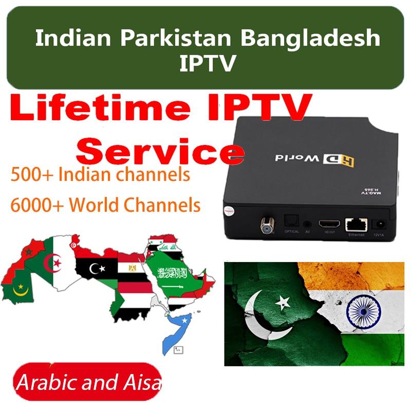 IPTV indien pakistan Bangladesh abonnement de service permanent MAG Android TV Box iptv Hindi Punjabi Kannada Tamli telfairy UK US