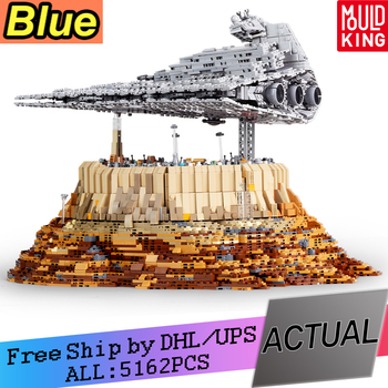 MOC-18916 Star Wars Destroyer cruise ship Star The Empire Over Jedha City Building Blocks Toys Model Christmas Gifts DHL 5162pcs new starwars destroyer cruise ship star plan the empire over jedha city building blocks bricks toys for christmas gift 05027