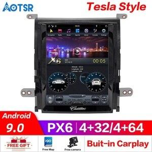 Image 2 - Android 10.0 PX6 6+128GB Car Radio Autoradio For Cadillac Escalade 2007 2012 Touch Screen Carplay DSP Multimedia GPS Navigation