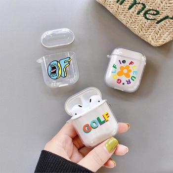 Silicona blanda y transparente Golf Wang Tyler Creator, carcasa divertida para Airpods Pro 1 2 3, fundas para auriculares Bluetooth, funda para auriculares