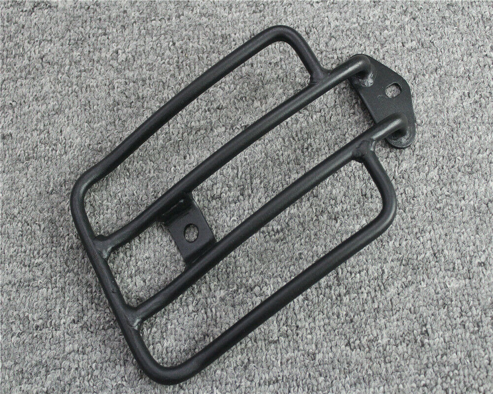 Black Luggage Carrier Rack Solo Seat For Harley Sportster 883 1200 2004-2014