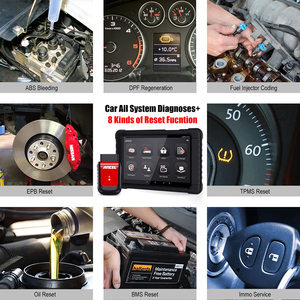 Image 5 - Ancel X6 OBD2 Scanner Full system Diagnostic Tool Bluetooth Wifi TPMS EPB IMMO Reset OBD2 Auto Car Diagnostic Tool