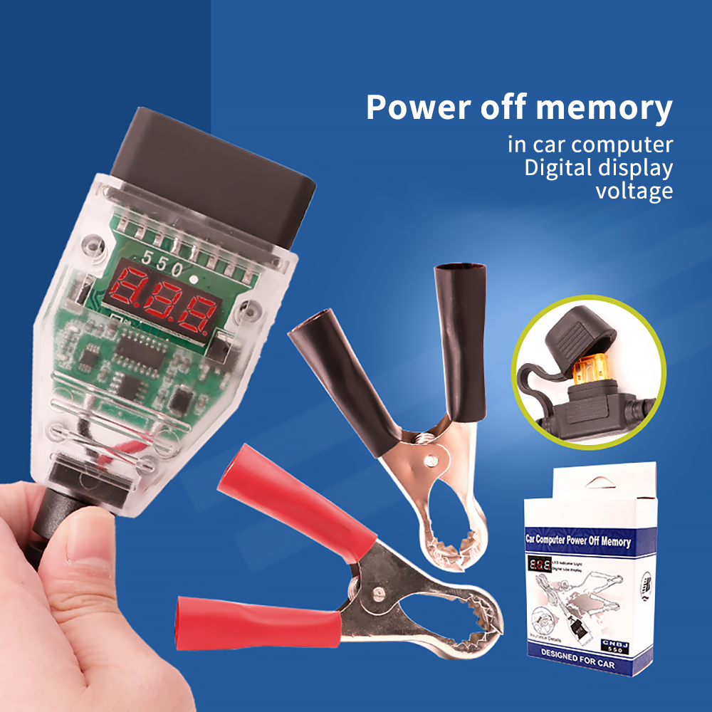 Car Battery Replacing Protector Automobile Power-Off Memory Saving Tool for OBD Interface Car Information Saving Tool