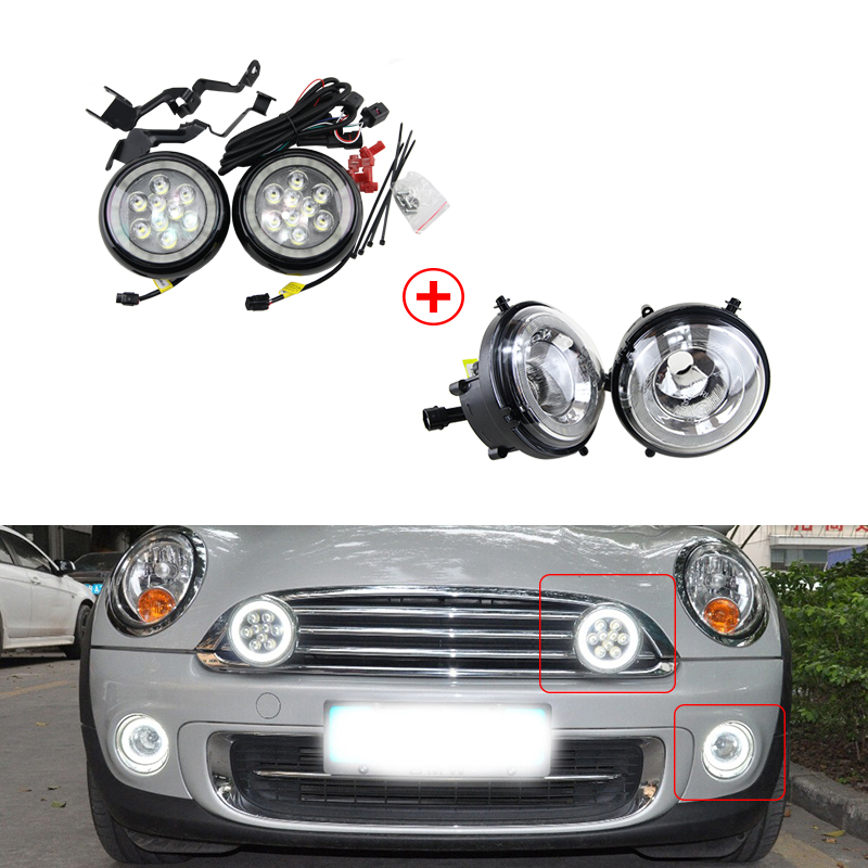 BMW Mini Spot Lights Driving Lamps BRACKETS R58 Coupe