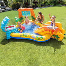 Summer Outdoor Inflatable Castle Toys Inflatable Ocean Ball Pool Paddling Pool Kids Swimming Pool Thickened Fishing Beach Pools