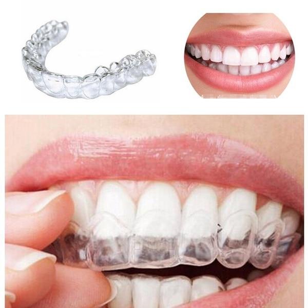 2 пары гель Отбеливание зубов брекеты рот лотки гвардии термо Спортивная Капа Remouldable Спортивная Капа зубная, Ортодонтическая фиксаторы Отбеливание зубов      АлиЭкспресс