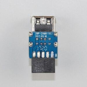 Image 4 - Adattatore professionale A doppio strato stabile di ricambio Bluetooth da 9 Pin A una porta durevole Mini USB 2.0 facile da installare