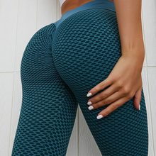 Gym Leggings Running-Tights Sports Yoga-Pants Tight-Workout Knitting Fitness Push-Up