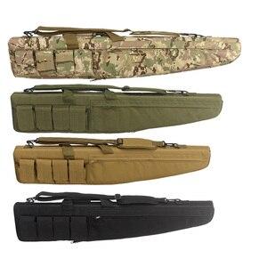 Страйкбол Тактический оружейный чехол 70 см 100 см 120 см водонепроницаемый армейский Военный снайпер сумка на плечо рюкзак для охоты на открыт...