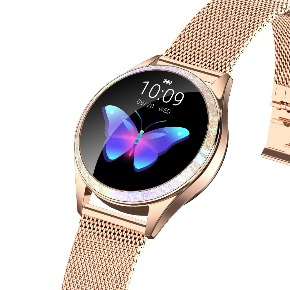 KW20 Smart Watch Women IP68 Waterproof Wristwatch Heart Rate Watch Women Bracelet 2019 Lady VS KW10 Smartwatch