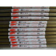 Ziyang Brass Electrode Tube Single Hole OD0.5*500mm Die Hole for EDM Drilling Machine
