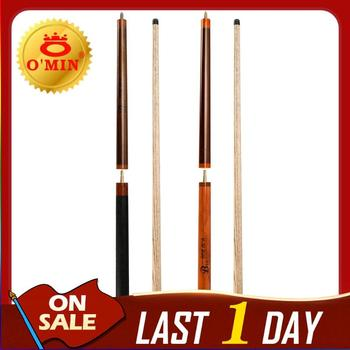 O'MIN B52 BOMBER Punch&Jump Cue 3-Piece Punch&Jump Kit Cue 14mm Tip Hand-made Punch Stick Billiard Cue Billiard Punch&Jump Stick