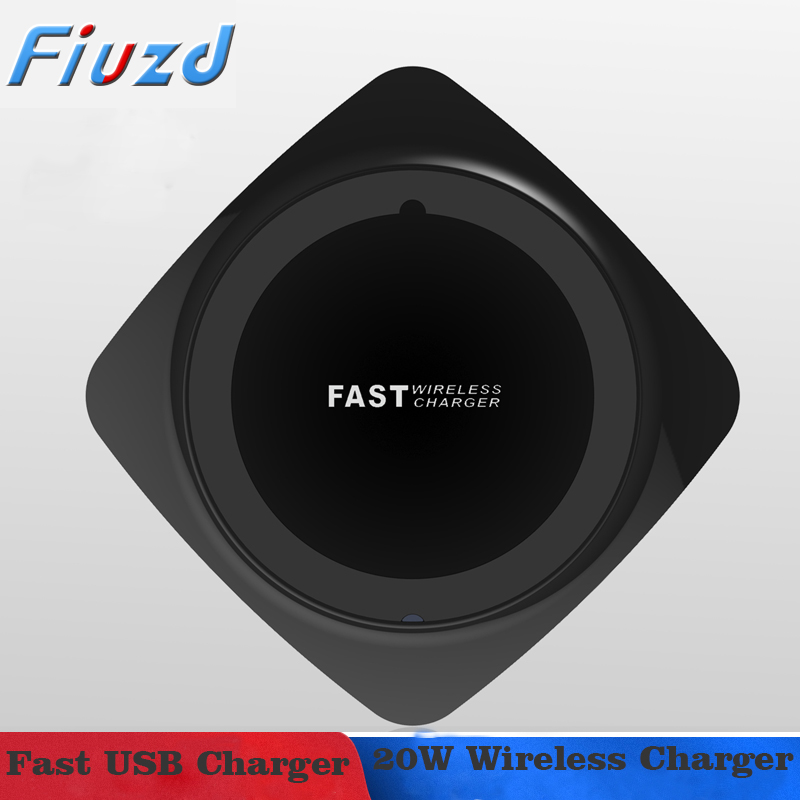 20W Qi Wireless Charger For Huawei p30 20 10 pro lite p 30 p 20 p 10pro lite mate 20 fast charger for honor 9x honor 8x honor 20