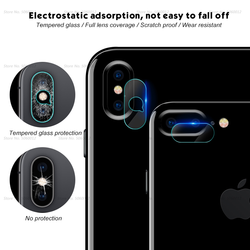 Ultra Thin Back Protective Camera Lens For iPhone XS XSMAX XR X 9
