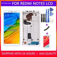 Wymiana ekranu dla Xiaomi Redmi Note 5 Pro wyświetlacz i montaż digitizera ekranu dotykowego dla Redmi Note 5 Snapdragon 636